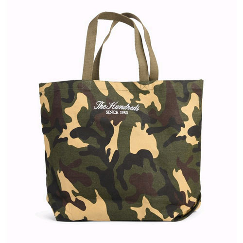 THE HUNDREDS Rich Camo Tote