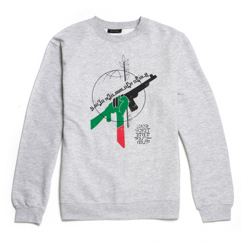 [QUICK STRIKE]BLACK SCALE RBG Revolution Crewneck, GREY