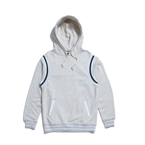 50%saleBLACK SCALE Varsity Pullover (Cream)
