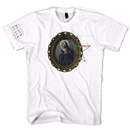 BLACK SCALE Geomary T-Shirt White