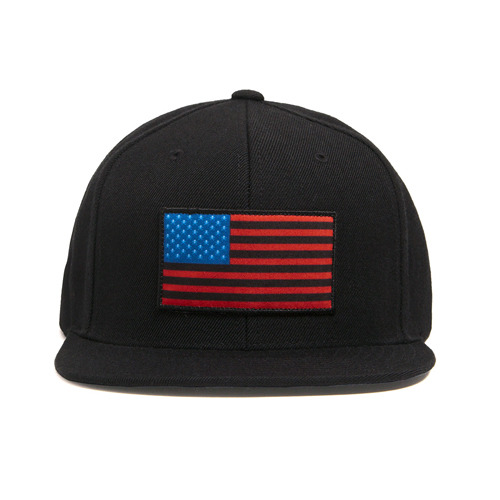 BLACK SCALE COLONY SNAPBACK (BLACK)