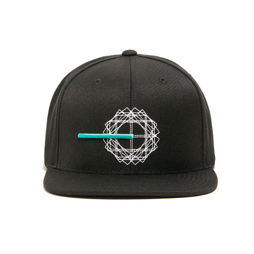BLACKSCALE Creation II Snap Back Black