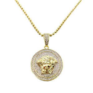 ROI'AL Medusa Coin Necklace