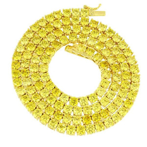 ROI'AL Canary Tennis Necklace