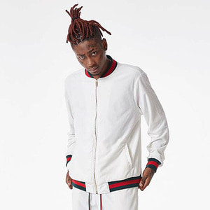 FNTY Velvet Gucci jacket WHITE