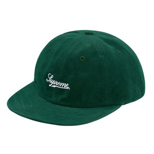 SUPREME BRUSHED TWILL SCRIPT 6-PANEL