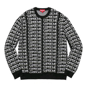 SUPREME REPEAT SWEATER