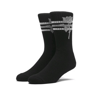 HUF X AMBUSH ROSE SOCKS BLACK
