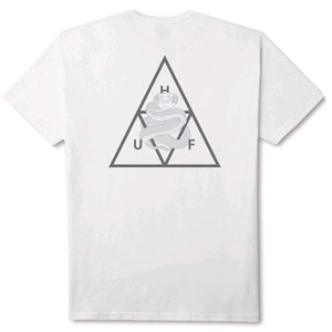 HUF X AMBUSH TRIPLE TRIANGLE S/S TEE WHITE