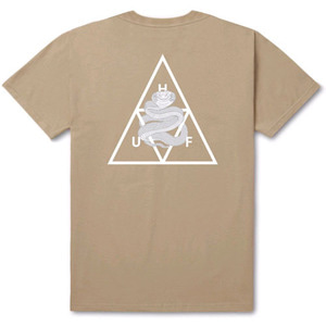 HUF X AMBUSH TRIPLE TRIANGLE S/S TEE SAND