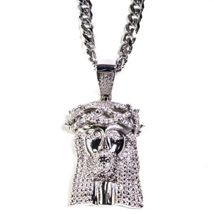 Design By TSS XL SILVER JESUS (SILVER)