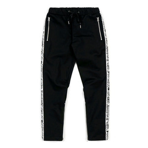 STIGMA LINE ZIPPER JOGGER PANTS WHITE