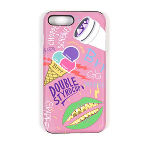 STIGMA PHONE CASE ICE CREAM PINK iPHONE 7/7+