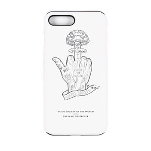 STIGMA PHONE CASE NUCLEAR WHITE iPHONE 7/7+