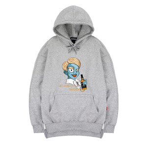 TRIPSHION ZOMBIE NOBLEMAN HOODIE - GRAY