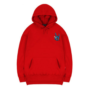 TRIPSHION FINGER SYRINGE HOODIE - RED