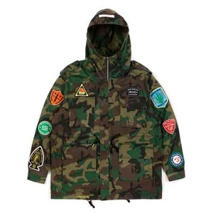 STIGMA FAITH OVERSIZED FIELD JACKET CAMOUFLAGE