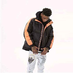 FNTY Duckdown Jacket Black