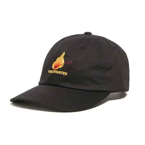 THE HUNDREDS Draft Dad Hat Black