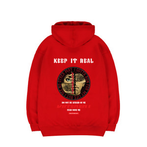 TRIPSHION PUBLIC ENEMY HOODIE - RED