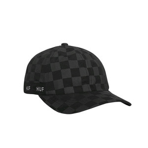 HUF BLACKOUT CURVED VISOR HAT