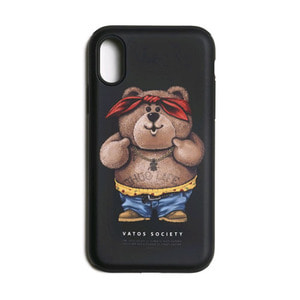 STIGMA PHONE CASE THUG BEAR BLACK iPHONE 8 / 8+ / X