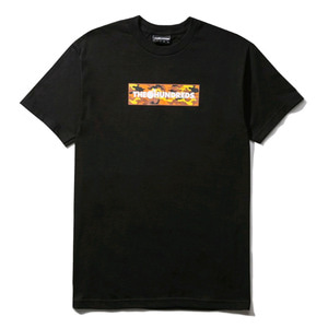 THE HUNDREDS CAMO BAR T-SHIRT BLACK