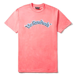 THE HUNDREDS PLAYER T-SHIRT CORAL