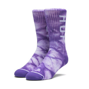 HUF OG LOGO SOCKS PURPLE