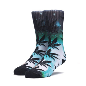 HUF DIGITAL AIRBRUSH PLANTLIFE SOCK TEAL