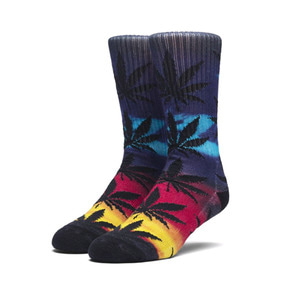 HUF DIGITAL AIRBRUSH PLANTLIFE SOCK PURPLE