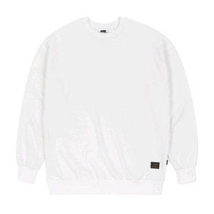 STIGMA BLANK HEAVY SWEAT OVERSIZED CREWNECK IVORY