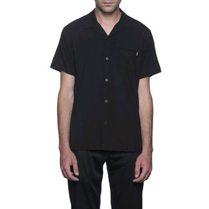 HUF CHERISH S/S BOWLING SHIRT BLACK
