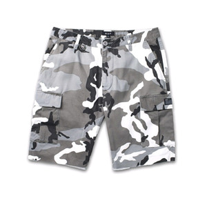 HUF STANDARD ISSUE CARGO SHORT WHITE CAMO