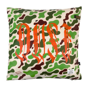 STIGMA DUST POLY THROW PILLOW CAMOUFLAGE