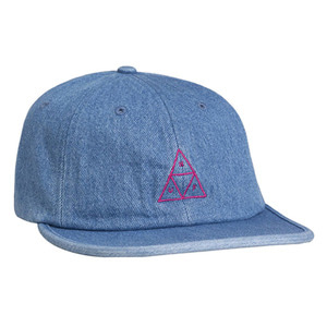 HUF FORMLESS DENIM TRIPLE TRIANGLE INDIGO