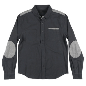 BLACK SCALE ARCUS BUTTON DOWN (BLACK)