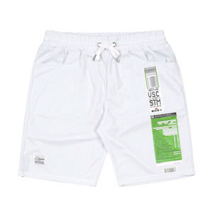 STIGMA IMMIGRATION COOLON SHORT PANTS WHITE