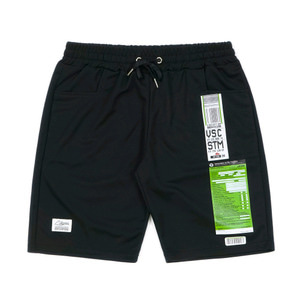 STIGMA IMMIGRATION COOLON SHORT PANTS BLACK