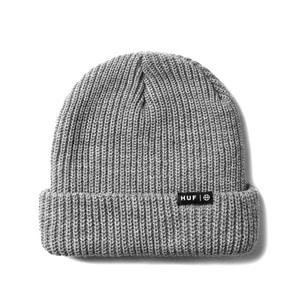HUF USUAL BEANIE HEATHER GREY