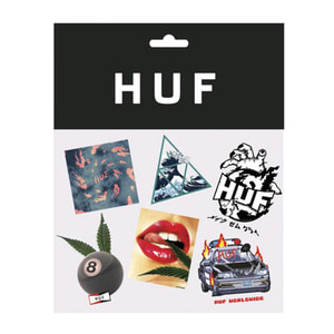 HUF LAST RESORT STICKER PACK