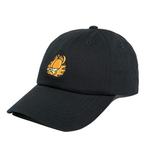 THE HUNDREDS X Garfield Mood Dad Hat BLACK