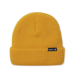 HUF USUAL BEANIE HONEY MUSTARD