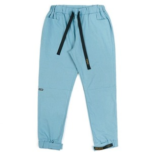 STIGMA STGM OXFORD WIDE JOGGER PANTS SKYBLUE