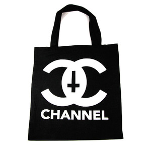 NEVERMIND CHANNEL TOTES SMALL