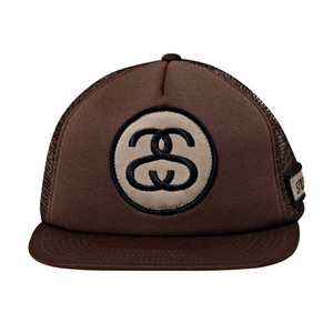 STUSSY BADGE TRUCKER BALLCAP [1]