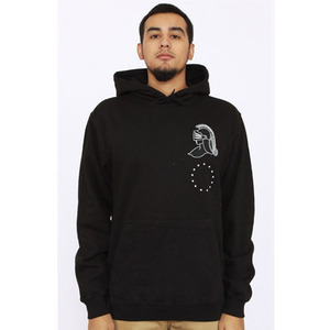 QUICKSTRIKE BLACK SCALE 13TH KNIGHT PULLOVER HOODY [1]
