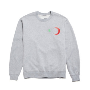 BLACK SCALE Six Point Star & Crescent