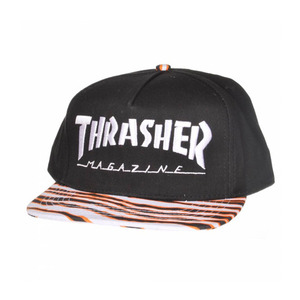 THRASHER TIGER STRIPE SNAPBACK
