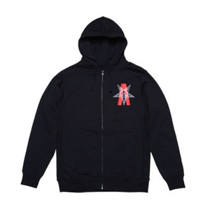 BLACK SCALE Abstract Reality Zip Up Hoody Zip Up Hoody [1]